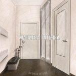 Декорирование прихожей - шкаф с раздвижными дверьми