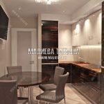 Дизайн кухни от дизайнера Малиева Татьяна в Мытищах