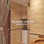 Дизайн ванной в 2018 году от Малиевой Татьяны