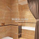 Дизайн интерьера ванной в Мытищах - ЖК Новое Медведково
