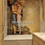 Вариант ванной 1 в дизайн проекте Малиевой Татьяны Люберцы 2019