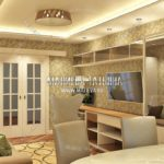 Вариант гостиной 2 в дизайн проекте Малиевой Татьяны Люберцы 2019