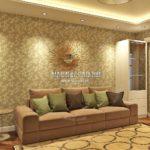 Вариант гостиной 3 в дизайн проекте Малиевой Татьяны Люберцы 2019