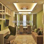 Вариант гостиной 6 в дизайн проекте Малиевой Татьяны Люберцы 2019