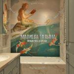 Вариант детской ванной 1 в дизайн проекте Малиевой Татьяны Люберцы 2019