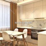 Вариант кухни 1 в дизайн проекте Малиевой Татьяны Люберцы 2019