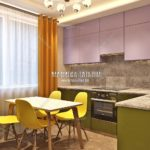 Вариант кухни 5 в дизайн проекте Малиевой Татьяны Люберцы 2019