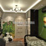 Вариант спальни сына 4 в дизайн проекте Малиевой Татьяны Люберцы 2019