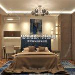 Вариант спальни для взрослых 4 в дизайн проекте Малиевой Татьяны Люберцы 2019