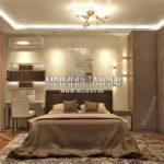 Вариант спальни для взрослых 5 в дизайн проекте Малиевой Татьяны Люберцы 2019