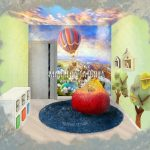 визуализация детской комнаты эскиз Малиева Татьяна