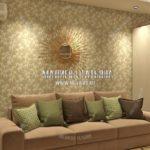 Диван в гостиной в современном стиле в дизайн проекте Малиевой Татьяны Люберцы 2019
