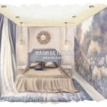 Дизайн спальни для взрослых в ЖК Купавна от дизайнера Малиева Татьяна 2019