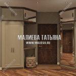 Дизайн прихожей в квартире ЖК Новое Медведково от Малиевой Татьяны