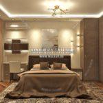 Дизайн спальни для взрослых в дизайн проекте Малиевой Татьяны Люберцы 2019