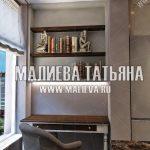 Темное кресло в рабочем кабинете Малиева Татьяна