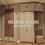 Дизайн квартиры с холлом-прихожей в ЖК Новое Медведково