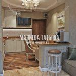 Дизайн кухни от Малиевой Татьяны в ЖК Новое Медведково