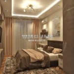 Спальня в современном стиле в дизайн проекте Малиевой Татьяны Люберцы 2019