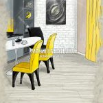 Эскизная визуализация Малиевой Татьяны в ЖК Эталон Сити Гостиная