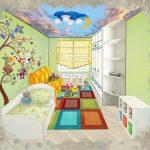 Эскиз детской комнаты в ЖК Эталон Сити