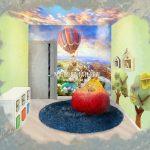 Малиева Татьяна эскиз детской комнаты Эталон Сити