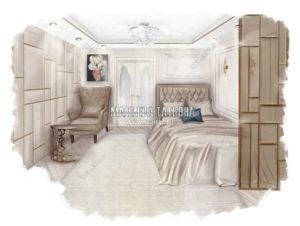 Совмещенная гостиная со спальней