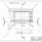 1 фрагмент плана гостиной ЖК Пироговская Ривьера