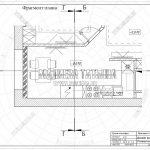 1 фрагмент плана кухни ЖК Пироговская Ривьера