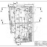 1 фрагмент плана спальни ЖК Рождественский Мытищи