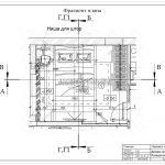 1 фрагмент плана спальни