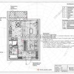 План полов - дизайн проект ЖК Яуза Парк 2019