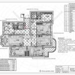 10. План полов: дизайн проект квартиры в Люберцах 2019