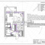 План плинтусов - дизайн проект ЖК Яуза Парк 2019