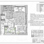 План потолков в дизайн проекте Малиевой Татьяны в ЖК Савеловский Сити, Москва 2018