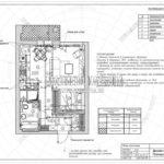 План потолков - дизайн проект ЖК Яуза Парк 2019