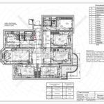 12. План потолков: дизайн проект квартиры в Люберцах 2019
