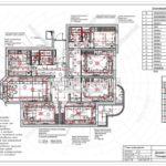 13. План освещения: дизайн проект квартиры в Люберцах 2019