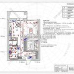 План выключателей - дизайн проект ЖК Яуза Парк 2019