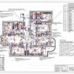 14. План выключателей: дизайн проект квартиры в Люберцах 2019