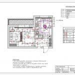 План освещения в ЖК Спутник дизайн проект в Мытищах