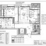 План потолков дизайн проект Малиевой Татьяны ЖК Родионово Химки