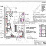 План розеток - дизайн проект ЖК Яуза Парк 2019
