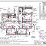 15. План электрики: дизайн проект квартиры в Люберцах 2019