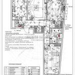 16 план выключателей с мебелью (Дизайн проект ЖК Рождественский)