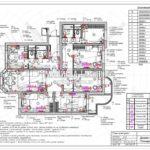 16. План дверей: дизайн проект квартиры в Люберцах 2019