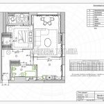 План дверей в дизайн проекте Малиевой Татьяны в ЖК Савеловский Сити, Москва 2018