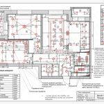 План освещения без мебели дизайн проект Малиевой Татьяны ЖК Родионово Химки