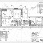 18 план отделки стен (дизайн проект ЖК Пироговская Ривьера)