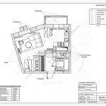 18 план отделки стен (дизайн проект Химки-Солнечная система)